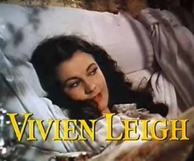 Leigh in Gone with the Wind