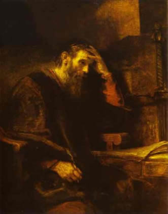 Paul by Rembrandt