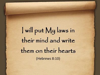 laws written on our hearts