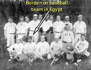 Egypt baseball team photo